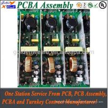 12v ups printed circuit board with fr4 94v0 pcb material led light pcba