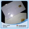 Contacto / Tarjeta de chip inteligente en blanco sin contacto con banda magnética