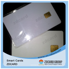 Günstige Creative PVC Blank Chip Card mit ID / Business / Transport