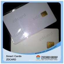 Tarjeta de chip en blanco PVC creativa barata con ID / Negocios / Transporte