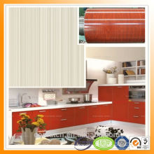 Quality Assurance Wood Grain Steel colorful steel red color
