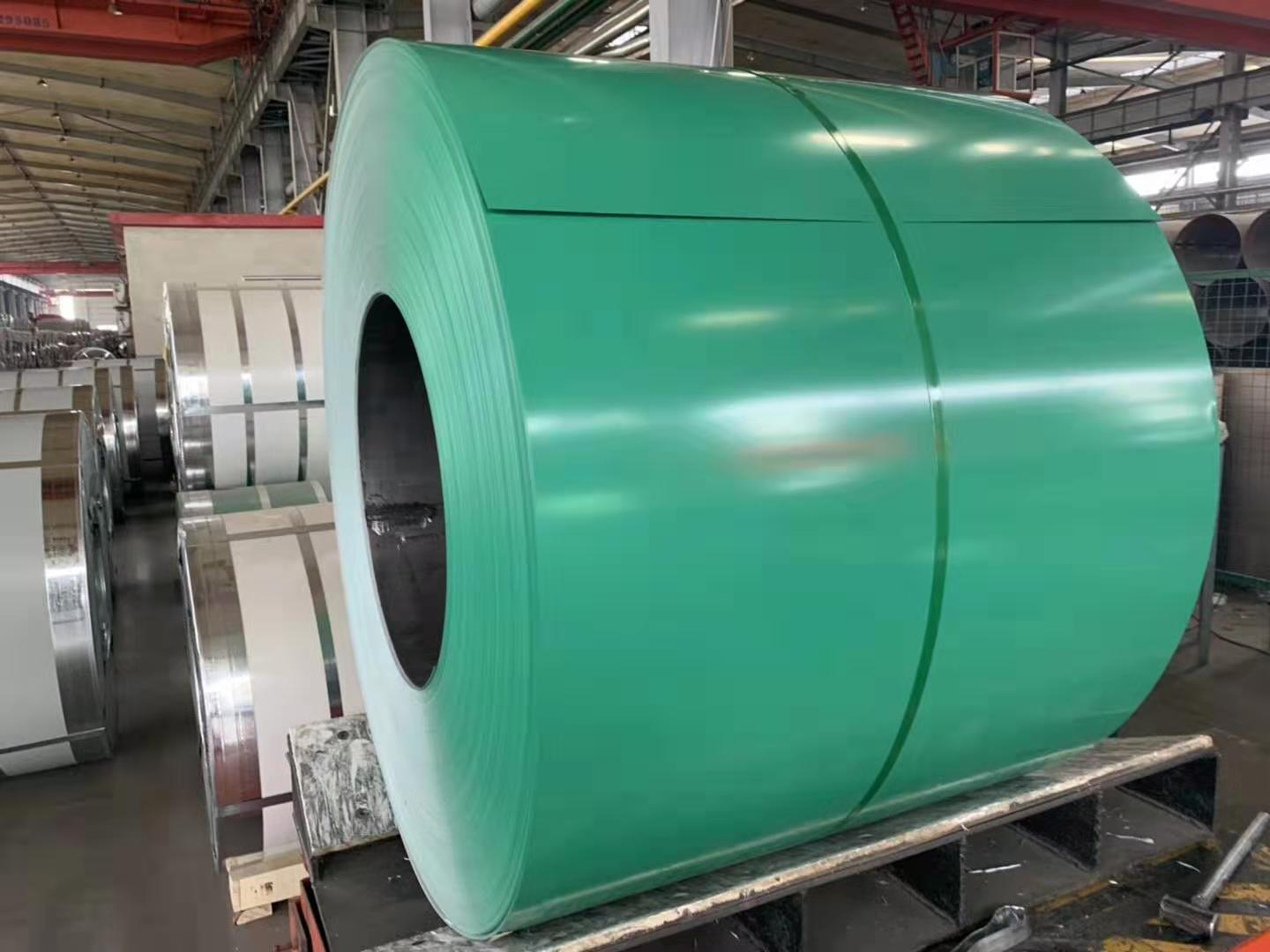 pre-painted galalume steel coil
