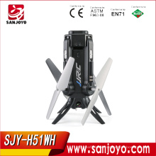 New JJRC H51 mini Selfie Rocket drone With Camera HD 720P Wifi One Key Return VS H37 mini Drone SJY-H51WH