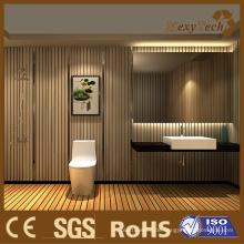 Elegante WPC-Innenwand-Klage für Badezimmer