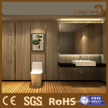 Elegant WPC Indoor Wall Panel Suits for Bathroom