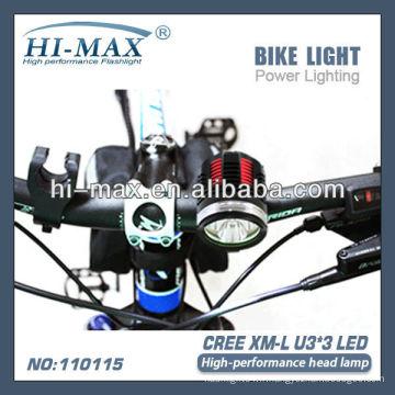 Lampe frontale à haute performance et éclairage vélo / éclairage extérieur