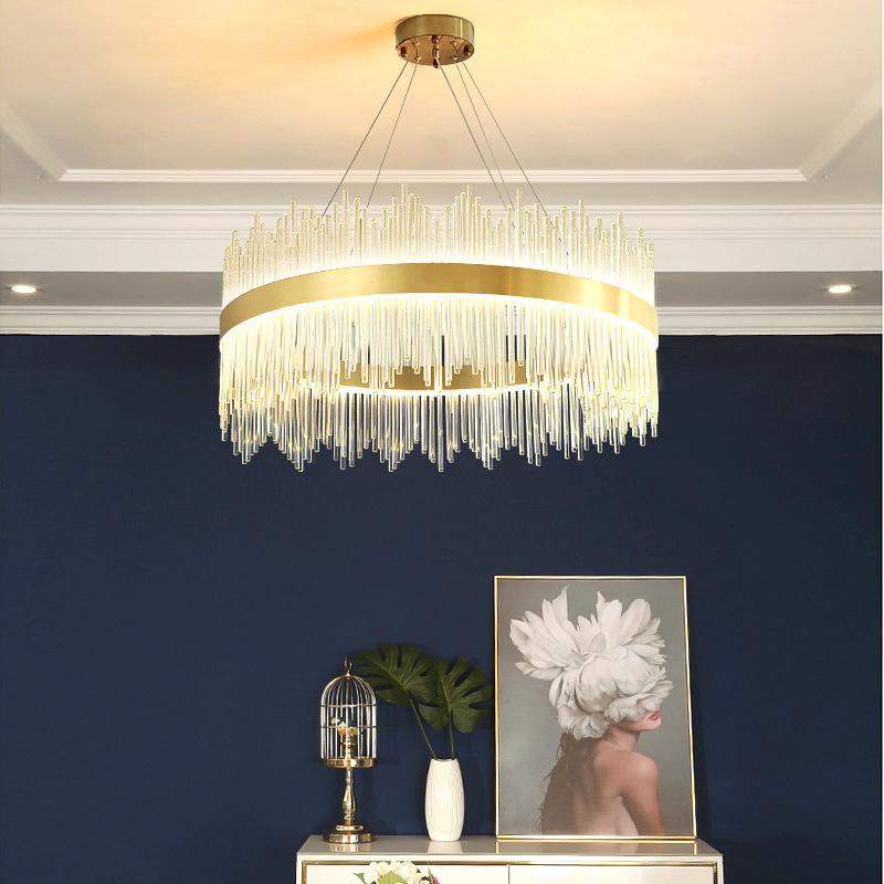 Antique Crystal Contemporary Chandeliers