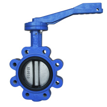 Lug Type Concentric Butterfly Valve with Aluminum Lever