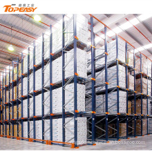 high density warehouse storage adjustable drive in pallet racking