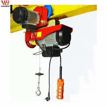 Lightweight Portable 1000kg PA Mini Electric Hoist with Wireless Remote, general industrial equipment