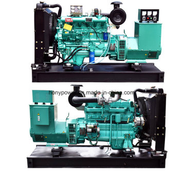 50kw Weifang Ricardo Engine Electric Portable Power Diesel Generator ATS
