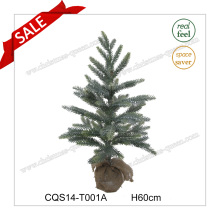 H60cm Flor artificial Glitter Cherry Blossom Tree Christmas Decorações