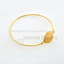 Handmade Semi Precious Gold Plated Natural Gemstone Indian Jewelry For Wholesale