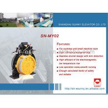 2014 heißen getriebelose Aufzug motor 630-2000 kg