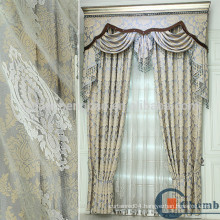 New Fashion Design Luxury Hotel Blackout Window Curtain