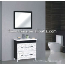 2013 High Gloss laundry Sink Cabinet Combo