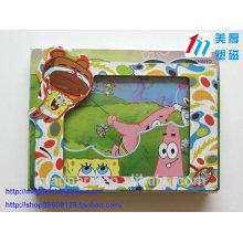 Оптовая Китай Магнитная рамка Картинная фоторамка для домашнего декора или рекламный подарок