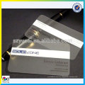 Hight quality and good price clear plastic PVC business cards