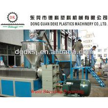 Máquina de reciclaje plástica de los gránulos del ABS DKSJ-160 / 140A