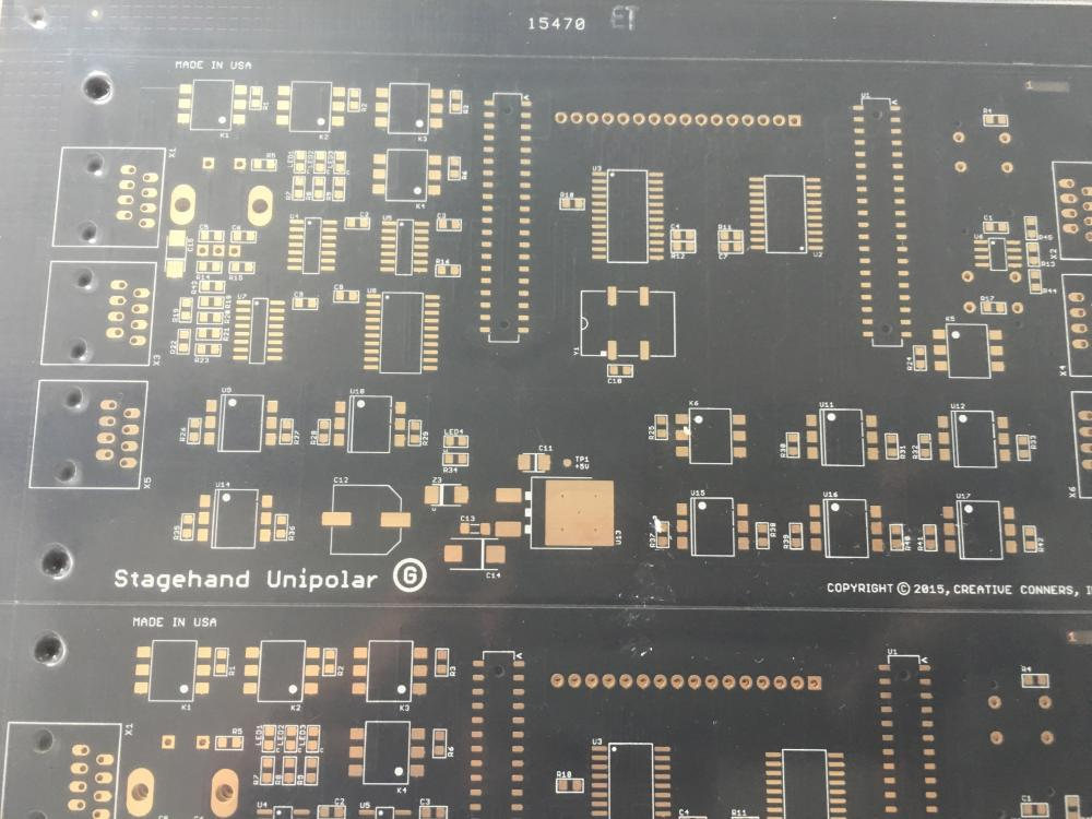 4 layer FR4 black ENIG PCB