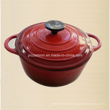 3qt Enamel Cast Iron Dutch Oven Dia 22cm