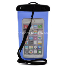 PVC waterproof cell phone case for universal phones