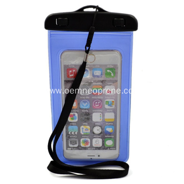 PVC Phone Waterproof Case With Band Strap