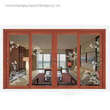 Современный дизайн окна, алюминиевые рамы для стекла (фут-W120)