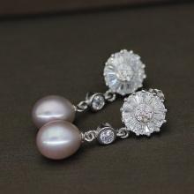 Handmade Fresh Water Pearl Earrings