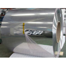 Mirror polished aluminum sheet roll