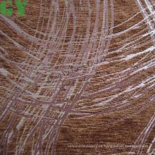 Tela de sofá/cortina/tapizar de chenille del telar jacquar (G44-136)
