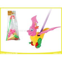 Schiebe Spielzeug Dinosaurier Kunststoff Spielzeug