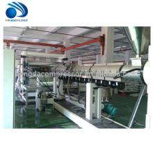 El extrusor plástico del tablero de sol del conducto del pvc de Hdpe pp hace la máquina
