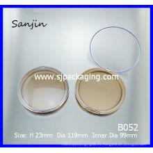 Gran tamaño grande caja de polvo compacto caso cosmético caja de cosméticos envases de cosméticos al por mayor