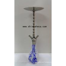 Fábrica de acero inoxidable Shisha Nargile pipa de fumar cachimba