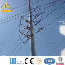 10kV Octagonal Steel Electrical Pole Factory