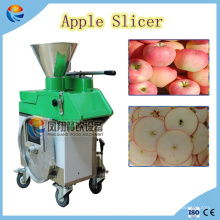 Chips de manzana automáticos industriales que cortan la máquina de cortar