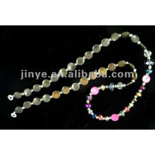 Mode-Design Shell Bead Crystal Glasses Lanyard