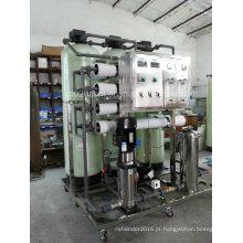 3000L / H Sistema de osmose reversa Purificador de água industrial com esterilização ultravioleta