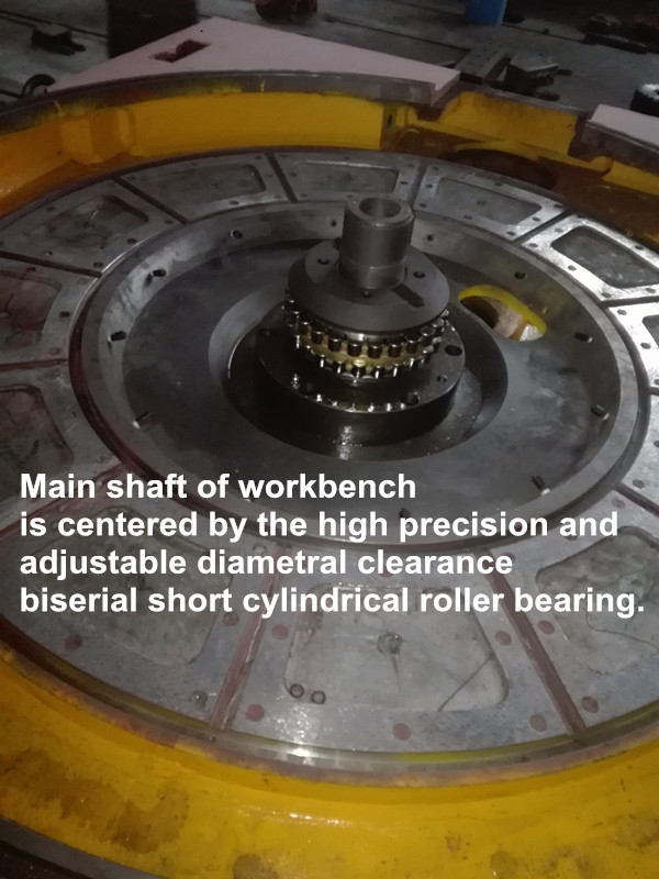 Vertical turning lathe parts