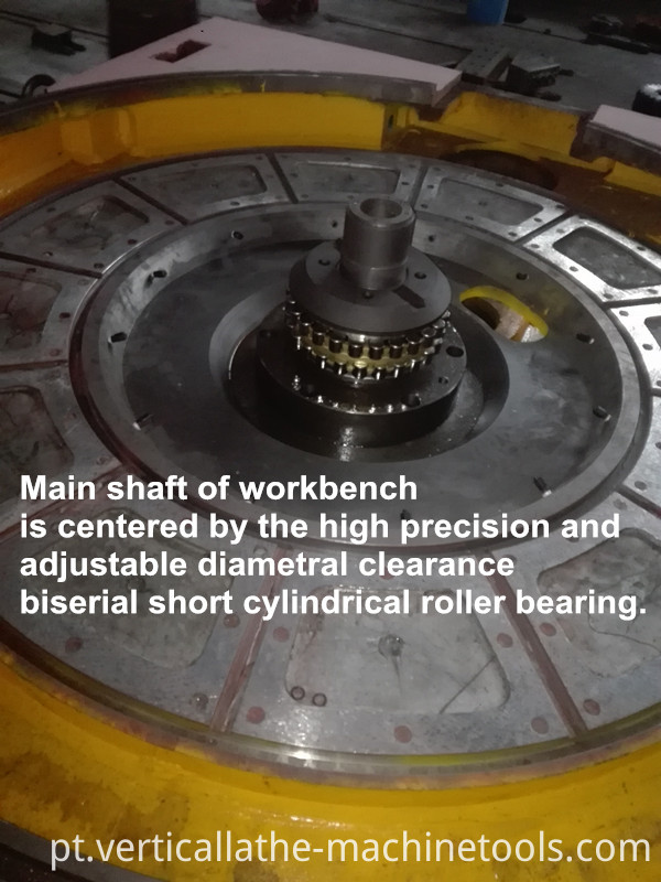 Railway Vertical Turning Lathe