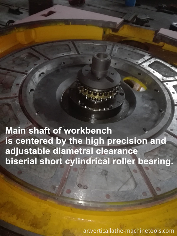Railway wheel turning lathe