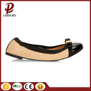 real genuine leather flat soft women's shoes