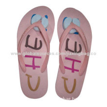 Women's Flip-flops, Made of EVA, Comfortable to Wear, Customized Colors Welcomed