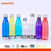 2016 Conjunto de regalo personalizado de marca privada Botellas de agua en forma de bala