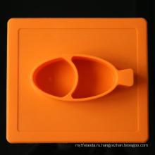 Творческая Изоляция Ребенка Ужин Placemat Силикона