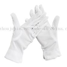 OEM Nylon Doorman Driver Magician White Etiquette Button Gloves