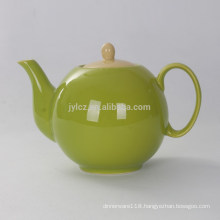 1000cc ceramic colorful teapot