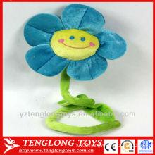 Office decoration velvet fabric flower for sale