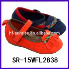 2015 heiße verkaufende tessel Mädchen dressy Schuhe Mädchen formale Schuhe Baby Schuhe